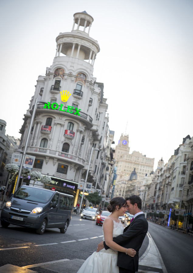 Fotógrafos boda Madrid